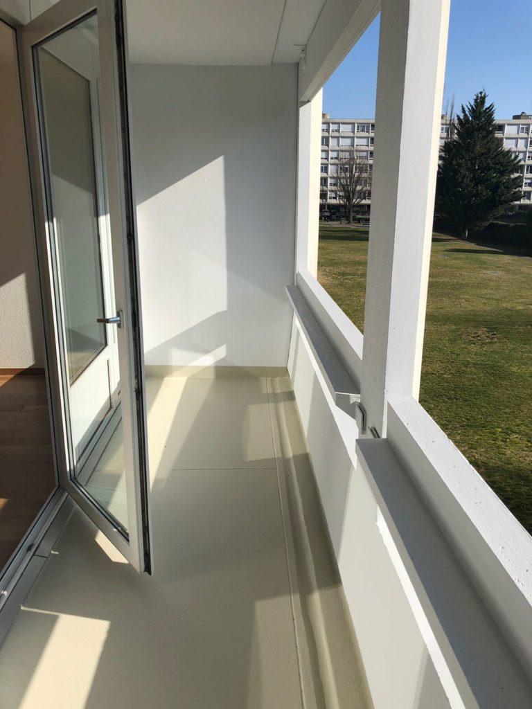 rénovation balcon lavage balcon peinture extérieure