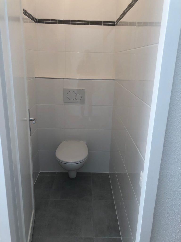 rénovation WC carrelage